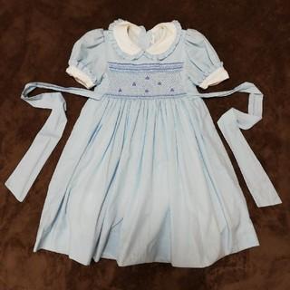 水色ワンピース 110 ドレス