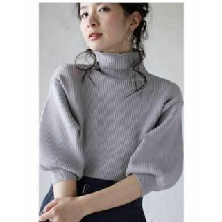 カワイイ(cawaii)のcawaii 完売品 大人気 ぽわん袖 ニット トップス(ニット/セーター)