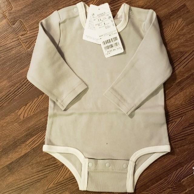 petit main(プティマイン)の新作プティマイン70ロンパース キッズ/ベビー/マタニティのベビー服(~85cm)(ロンパース)の商品写真