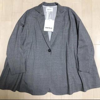 エンフォルド(ENFOLD)のENFOLD Aライン ジャケット コート(テーラードジャケット)