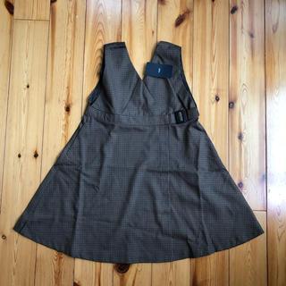 ドアーズ(DOORS / URBAN RESEARCH)の新品タグ付き DOORS  ウエストベルトジャンバースカート(スカート)