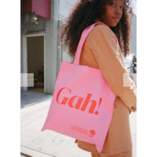 エディットフォールル(EDIT.FOR LULU)の💓💓Lisa says gah! トートバッグ エコバッグ Pink(トートバッグ)