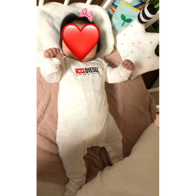 DIESEL(ディーゼル)のDIESEL ロンパース 6M キッズ/ベビー/マタニティのベビー服(~85cm)(ロンパース)の商品写真