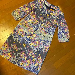 SunaUna - 美品スーナウーナ 花柄の上品可愛いワンピース サイズ38、M suna una