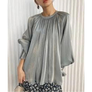 Ameri VINTAGE - Ameri 2WAY SOFT VOLUME BLOUSE
