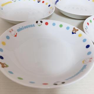 ミキハウス(mikihouse)のmiki house   食器 お皿 4枚セット(食器)