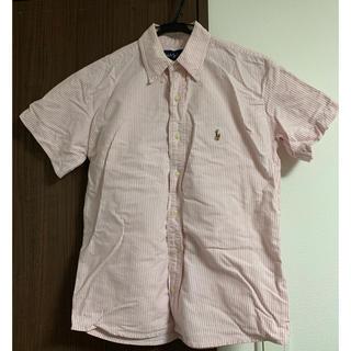 ポロラルフローレン(POLO RALPH LAUREN)のラルフローレン 半袖シャツ ピンク(シャツ/ブラウス(半袖/袖なし))