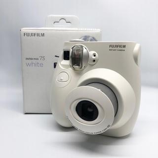 富士フイルム - FUJIFILM instax mini7S チェキ ホワイト