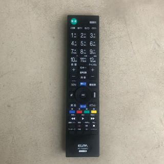 ブラビア(BRAVIA)の【ELPA】SONYブラビア対応テレビ用リモコン RC-TV009SO(テレビ)