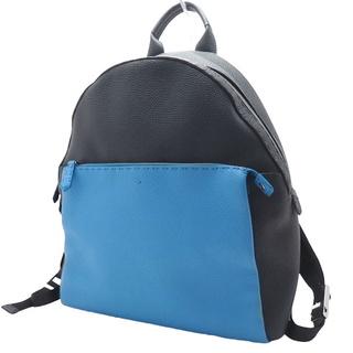 フェンディ(FENDI)のフェンディリュック・バッグパック バックパック レザー デニム(内側) 紺 青(バッグパック/リュック)