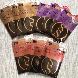 FLOWFUSHI - 【新品】フローフシ SAISEIシート マスク 3種×3 9セット18袋