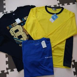 コンバース(CONVERSE)の新品キッズ服 スポーツウエア 150cm ロンT×2 Tシャツ converse(Tシャツ/カットソー)