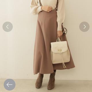 プロポーションボディドレッシング(PROPORTION BODY DRESSING)のバックリボンジャンバースカート(ロングワンピース/マキシワンピース)