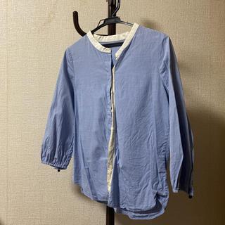 マカフィー(MACPHEE)のスタンドカラーシャツ(シャツ/ブラウス(長袖/七分))