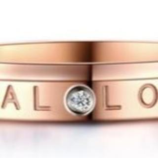 loveの文字がかわいい レディースリング 指輪(リング(指輪))
