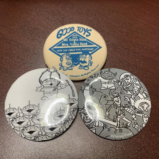 トイ・ストーリー(トイストーリー)のトイストーリー♡缶バッチ エンタメ/ホビーのアニメグッズ(バッジ/ピンバッジ)の商品写真