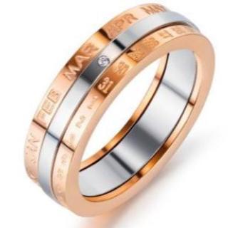 新作入荷 かわいいカレンダーリング 指輪(リング(指輪))