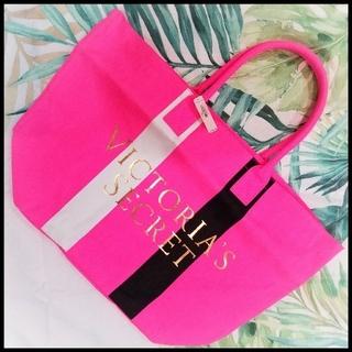 ヴィクトリアズシークレット(Victoria's Secret)の新品💘 ヴィクシー ピンク トートバック 大容量(トートバッグ)