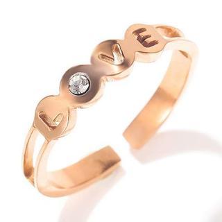 かわいいloveリング 指輪(リング(指輪))