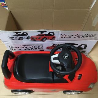 乗用 メルセデス・ベンツ SLS AMG 赤(三輪車/乗り物)