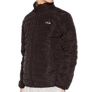 フィラ(FILA)のFILA(フィラ) ブルゾンリサイクル中綿ジャケット メンズ Mサイズ ブラック(ブルゾン)