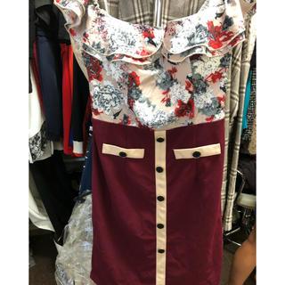 デイジーストア(dazzy store)のdazzy キャバ嬢ドレス(ミニドレス)