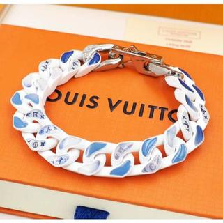 LOUIS VUITTON - 8410 LOUIS VUITTONチェーンネックレス