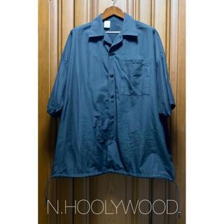 エヌハリウッド(N.HOOLYWOOD)のエヌハリウッド シャツコート 半袖 38(シャツ)