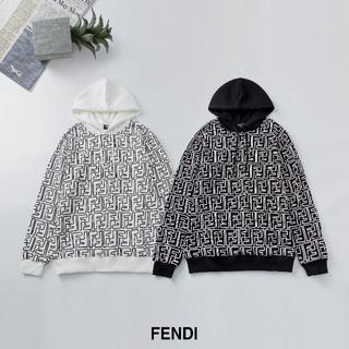 フェンディ(FENDI)の✨\2枚13500/フェンディFENDI長袖パーカーフード付き#1(パーカー)