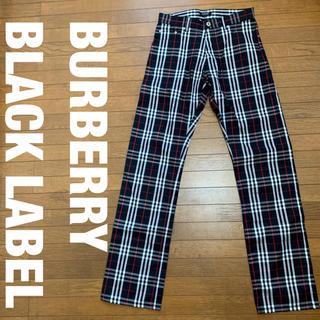 バーバリーブラックレーベル(BURBERRY BLACK LABEL)のBURBERRY BLACK LABEL チェックパンツ   73(スラックス)