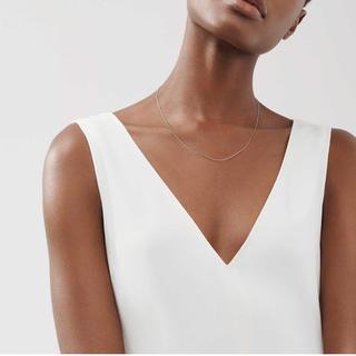 Tiffany & Co. - Tiffany ティファニー スターリングシルバーチェーン ネックレス 41cm