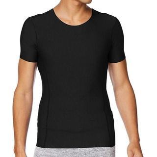 グンゼ(GUNZE)のグンゼ Tシャツ アクティブスタイル メンズ Mサイズ ブラック ASX113A(Tシャツ/カットソー(半袖/袖なし))