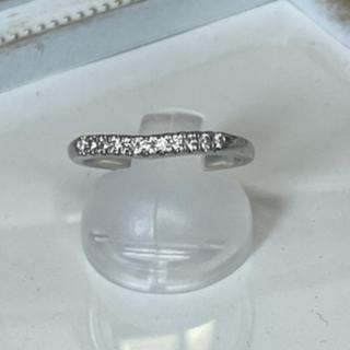 ダイヤモンドパヴェリング pt950(リング(指輪))