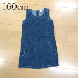 ギャップキッズ(GAP Kids)のジャンパースカート160cm (スカート)