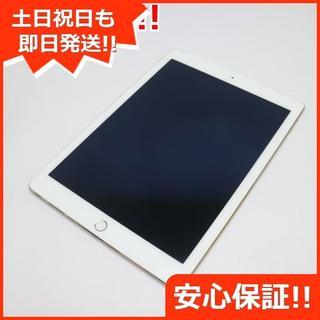 アップル(Apple)の美品 au iPad Air 2 Cellular 16GB ゴールド (タブレット)