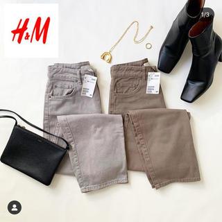 エイチアンドエム(H&M)のH&M * ボーイフレンドパンツ(カジュアルパンツ)