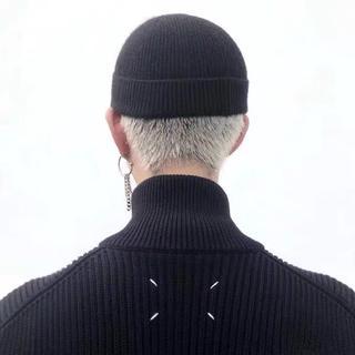 Maison Margiela  20aw レトロ ブラック セーター (ニット/セーター)
