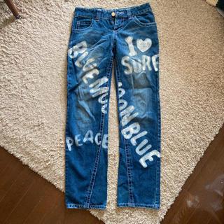 BLUE MOON BLUE - BLUE MOON BLUE ダメージジーンズ