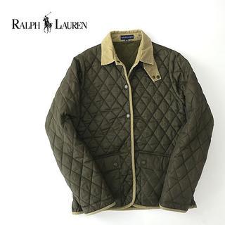 Ralph Lauren - ラルフローレン ポニー刺繍◎コーデュロイ使いキルティングジャケット