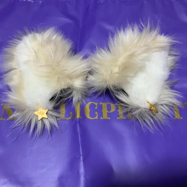 Angelic Pretty(アンジェリックプリティー)のHoly Wolf クリップ レディースのヘアアクセサリー(バレッタ/ヘアクリップ)の商品写真