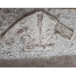 マーキュリーデュオ(MERCURYDUO)の新品 今期新作 MERCURYDUO エコファーコクーンコート(毛皮/ファーコート)