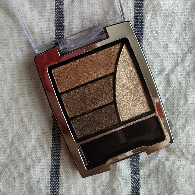 K-Palette(ケーパレット)のkパレット シャイニースターアイズ 02 アイシャドウ ブラウン ゴールド コスメ/美容のベースメイク/化粧品(アイシャドウ)の商品写真