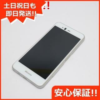 フジツウ(富士通)の美品 SIMロック解除済 F-04K ホワイト 本体 白ロム (スマートフォン本体)