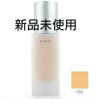 RMK - 【新品未使用】RMK ジェルクリーミィファンデーション 102