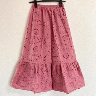 ジーユー(GU)のGU レーススカート(ロングスカート)
