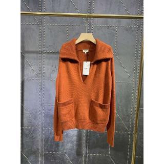 セリーヌ(celine)のCELINE  セリーヌ オープンカラー セーター(ニット/セーター)