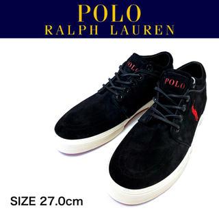 ポロラルフローレン(POLO RALPH LAUREN)の【新品】POLO RALPH LAUREN FAXON MID Ⅱ UK8.0(スニーカー)