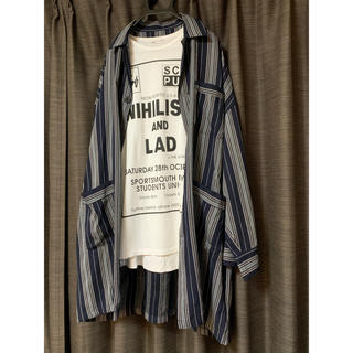 ラッドミュージシャン(LAD MUSICIAN)の17aw パジャマシャツ 44サイズ(シャツ)