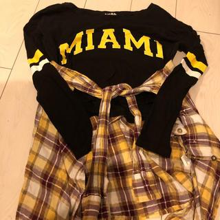 アナップ(ANAP)のANAP ロンT  H&M長袖シャツ (Tシャツ(長袖/七分))
