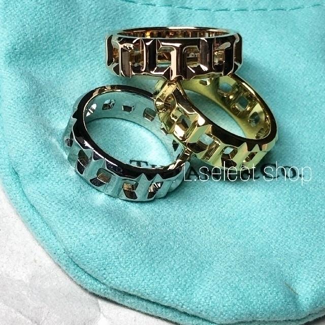 L'Appartement DEUXIEME CLASSE(アパルトモンドゥーズィエムクラス)の425.T true wide ring【gold】 レディースのアクセサリー(リング(指輪))の商品写真